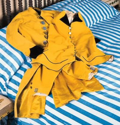 Libreas de lacayo amarillas