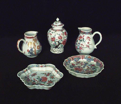 Grupo de varias piezas chinas