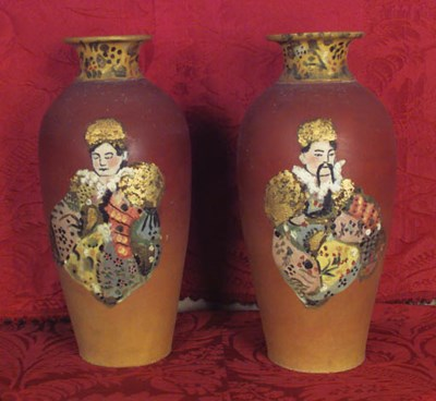 Dos jarras de cermica espaola