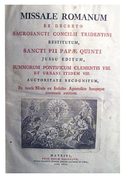 Canon missae, Venecia: 1652, f