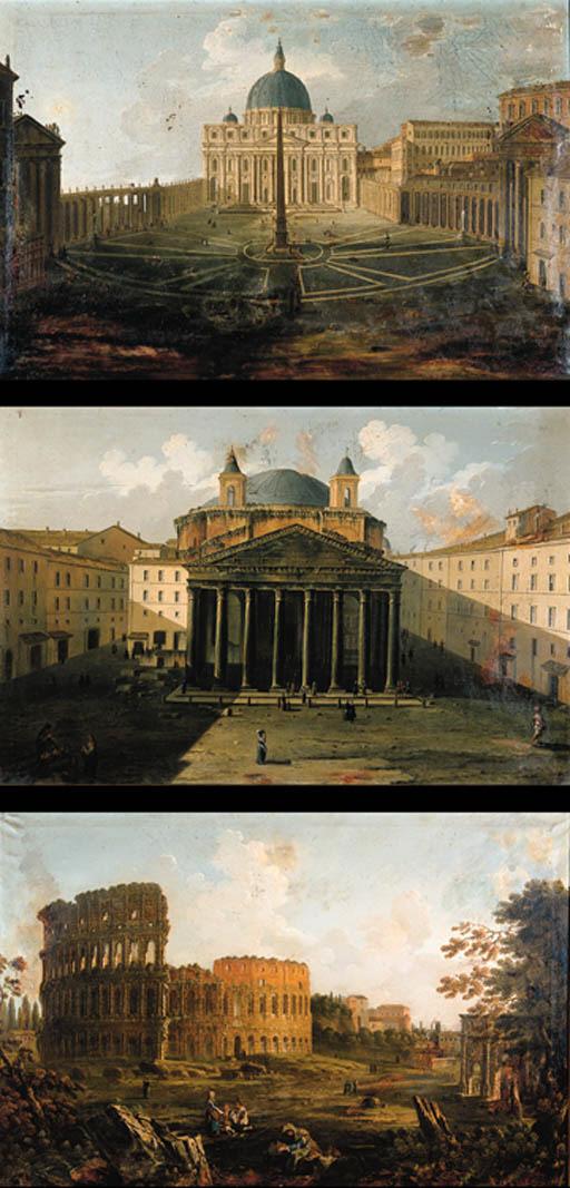 Crculo de Paolo Anesi (1700-17