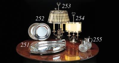 LAMPE DE BUREAU EN ARGENT