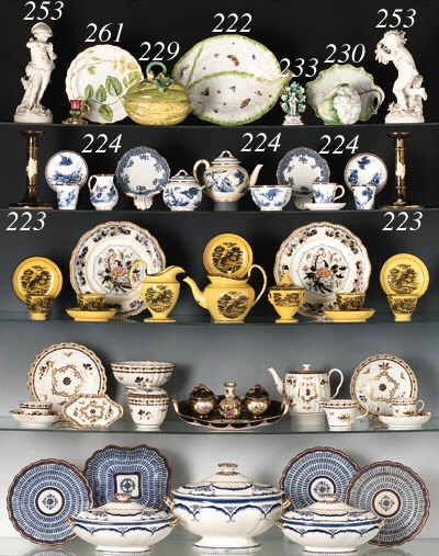 A SELECTION OF ENGLISH OBJECTS
