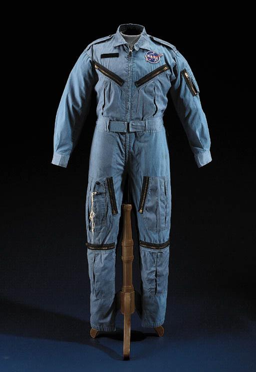 Blue Aircraft Flightsuit. Size