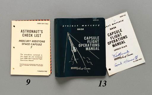 Astronaut's Check List, Mercur