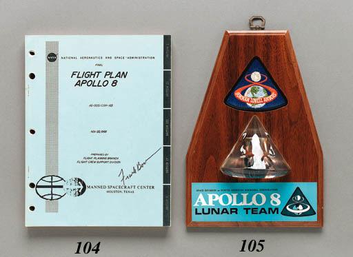 FLOWN Apollo 8 heatshield segm