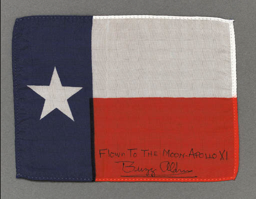 FLOWN Texas state flag from Ap