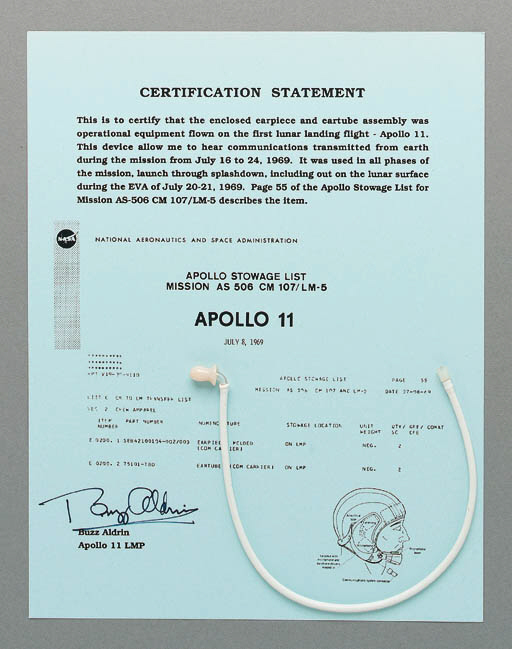 FLOWN Apollo 11 communications