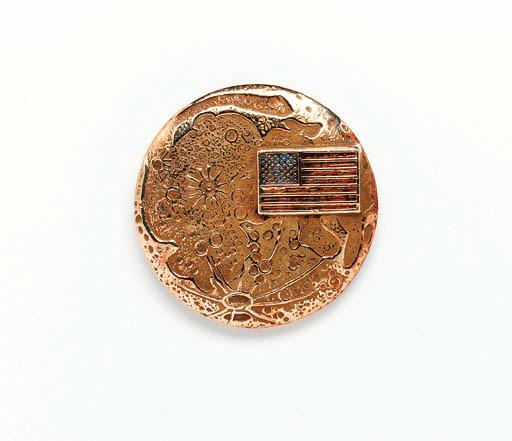 FLOWN Apollo XII lapel pin flo