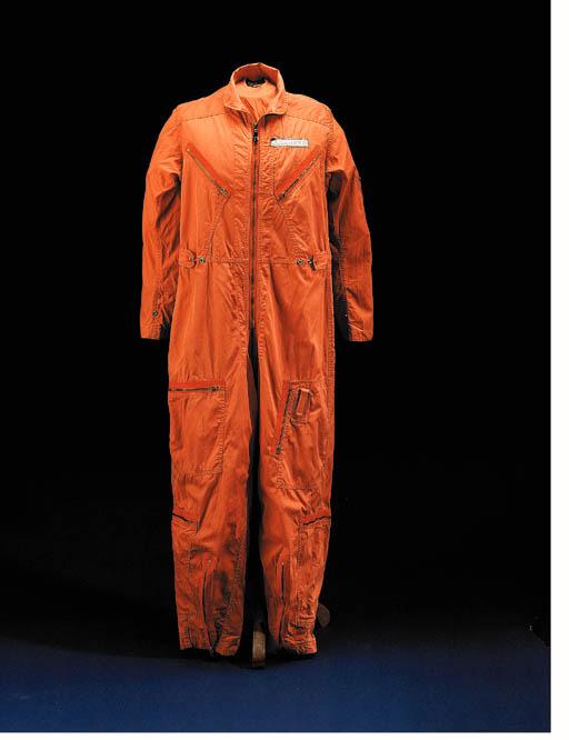 Orange Aircraft Flightsuit.  S