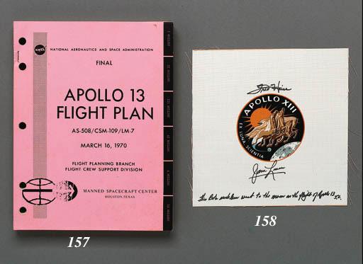 FLOWN Apollo XIII Beta cloth c