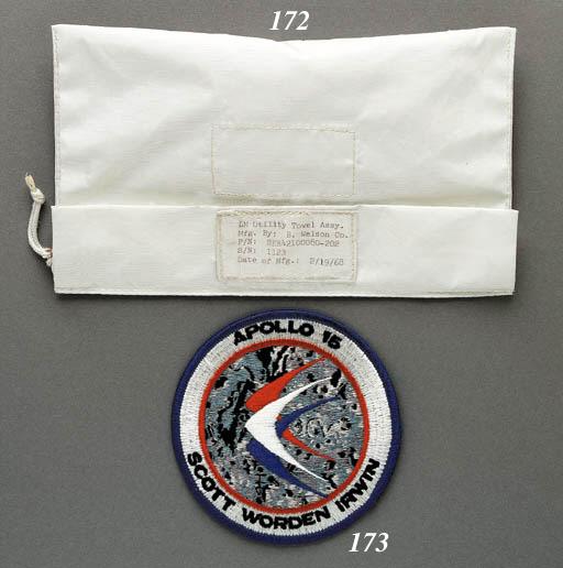 FLOWN cloth emblem taken to th