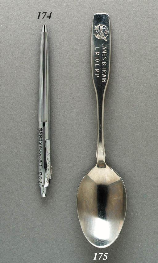 FLOWN Spoon from Apollo 15. Ap