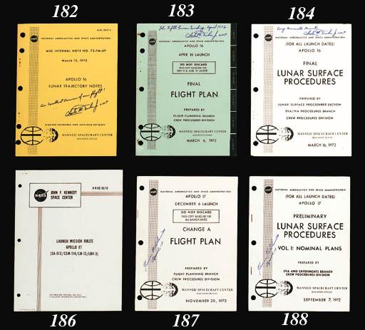 Apollo 16 Final Flight Plan. N