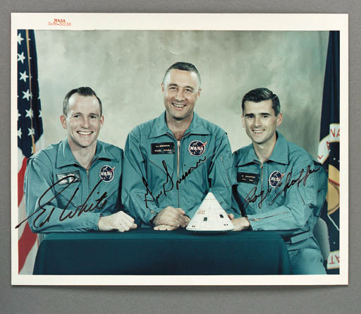[APOLLO 1 ASTRONAUTS] - NASA c