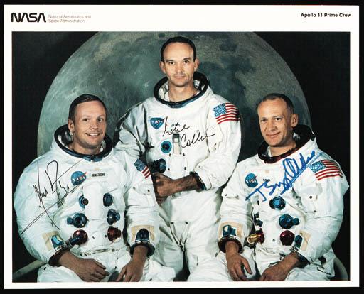 [APOLLO 11].  A NASA color spa