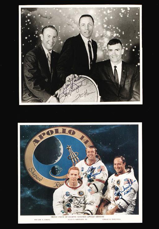 [APOLLO 14].  4 NASA photos. A