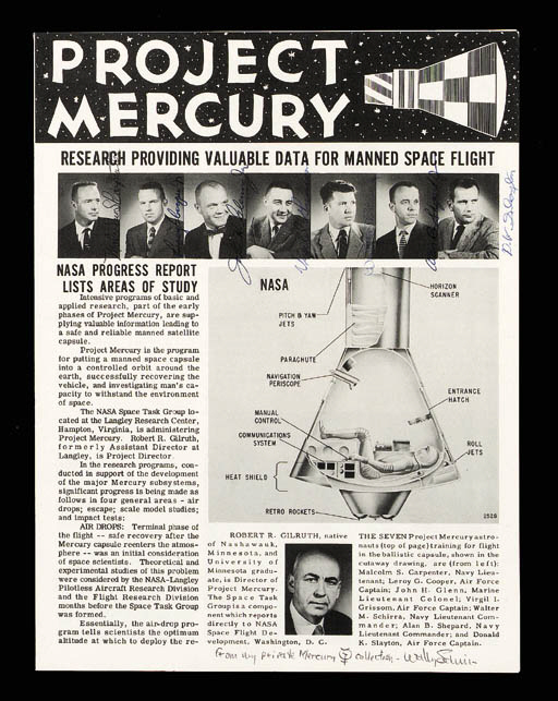 Project Mercury. NASA/Langley,
