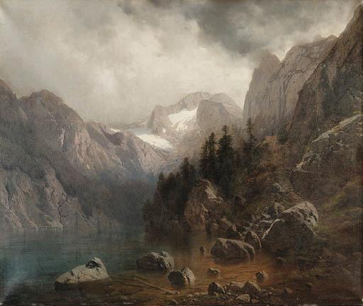 Carl Millner (German, 1825-189