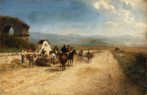 Albert Flamm (German, 1823-190