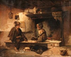 Dominico Induno (Italian, 1815-1878)