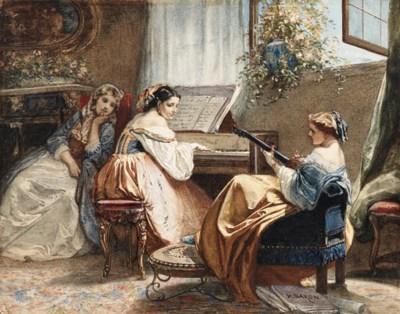 Henri Baron (French, 1816-1885