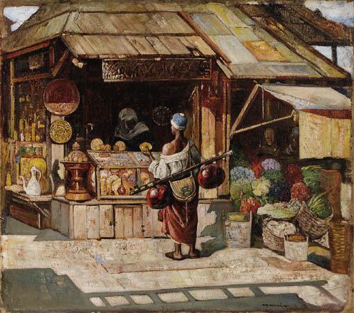 Gyula Tornai (Hungarian, 1861-