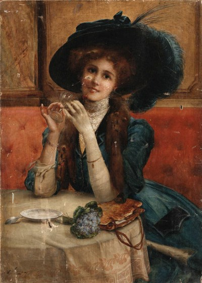 Emile Vernon (French, 19th Cen