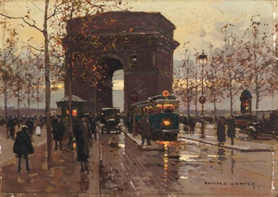 Edouard-Leon Cortes (French, 1