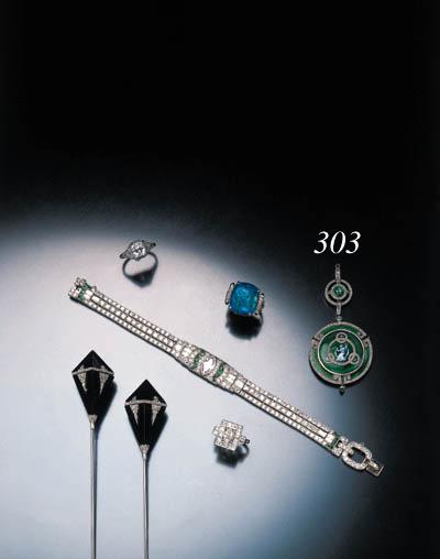 BELLE EPOQUE ENAMEL AND DIAMON