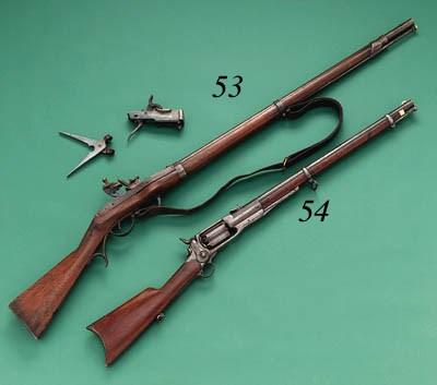 A US .52 HALL MODEL 1819 BREEC
