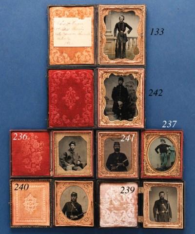 [TINTYPE]. Sixth plate tintype