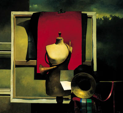 Roger Mantegani (b.1957)