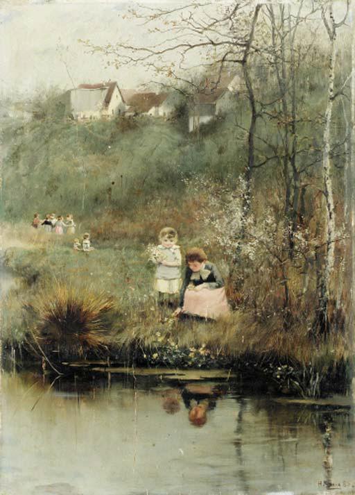 Hugo Konig (German, 1856-1899)