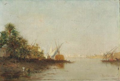 Narcisse Berchere (French, 181
