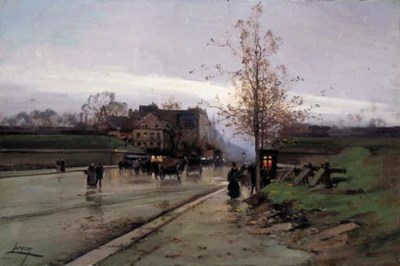 Eugene Galien-Laloue (French,