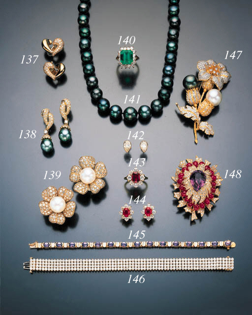 DIAMOND, AMETHYST, RUBY AND YE