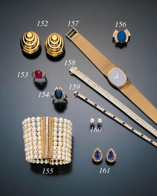 DIAMOND AND SAPPHIRE LINE BRAC