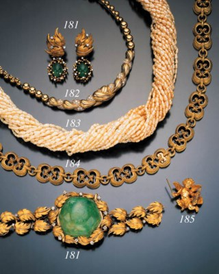 SUITE OF EMERALD, DIAMOND AND