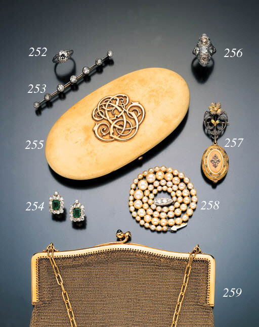 TWO IVORY NECESSAIRES