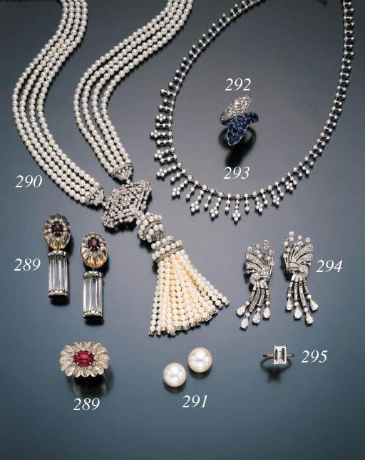 DIAMOND AND CULTURED PEARL SAU