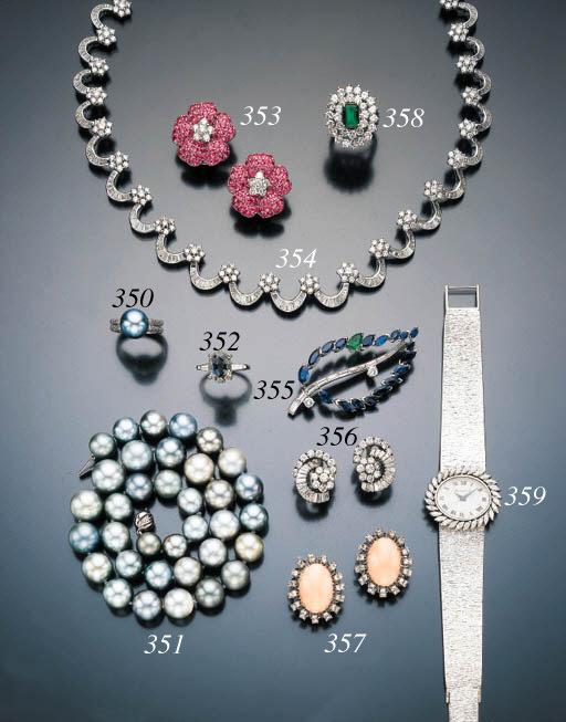 SAPPHIRE, DIAMOND AND EMERALD