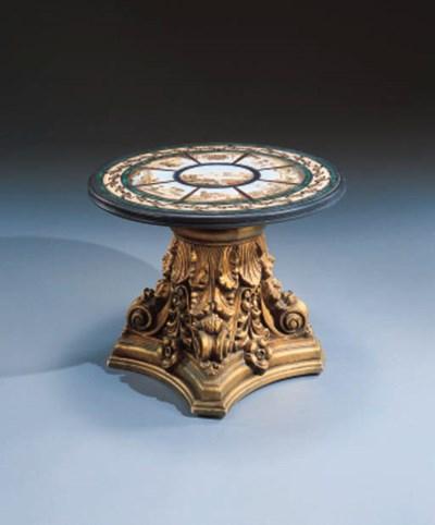 AN ITALIAN MICROMOSAIC TABLE