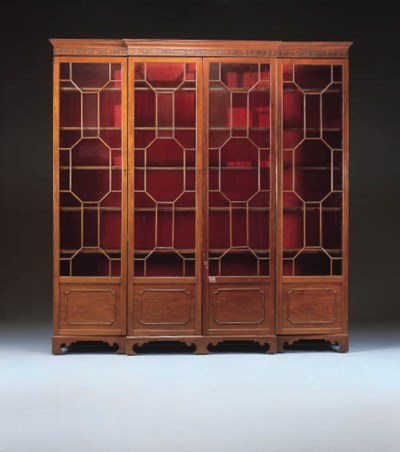 A George III Style Mahogany Br