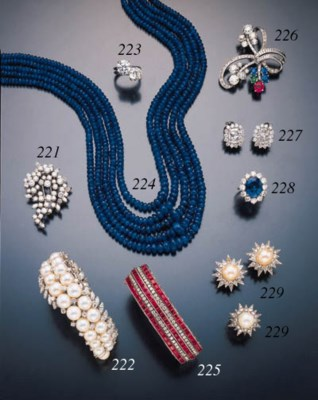 INDIAN FIVE STRAND SAPPHIRE BE
