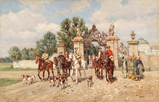 Wilhelm Velten (Russian, 1847-1929)