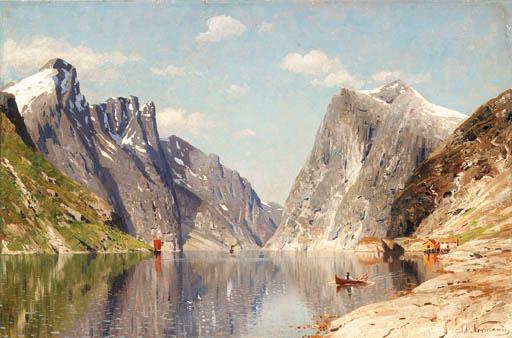 Adelsteen Normann (Norwegian, 1848-1914)