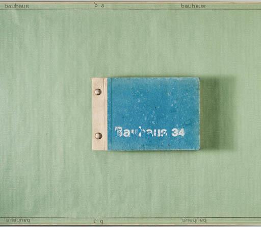 'BAUHAUS 34', A WALLPAPER CATALOGUE