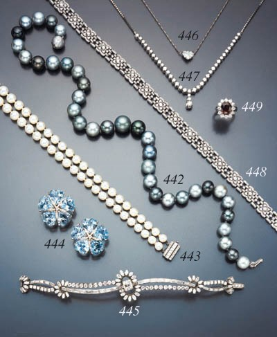 PAIR OF BLUE TOPAZ AND DIAMOND