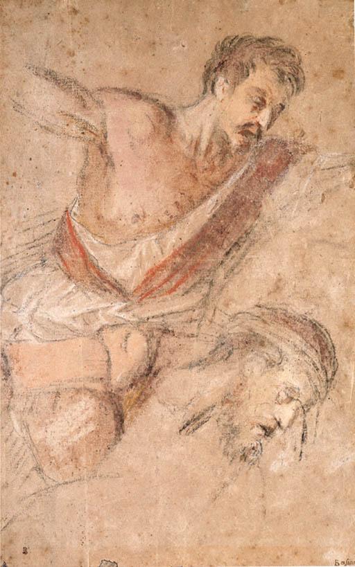 Jacopo da Ponte, called Jacopo Bassano (1515-1592)   Studies for a